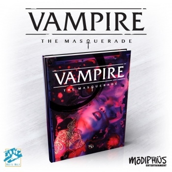 Vampire - the Masquerade 5th edition - Core Rulebook
