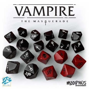 Vampire - The Masquerade 5th Edition - Dice Set
