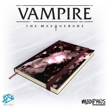Vampire - The Masquerade 5th Edition - Notebook