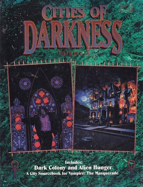Vampire the Masquerade - Cities of Darkness Vol.3 (Genbrug)
