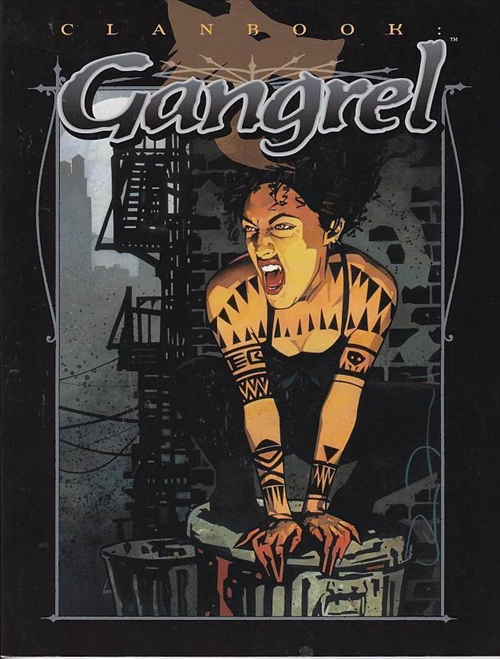 Vampire the Masquerade - Clanbook Gangrel Revised edition (Genbrug)