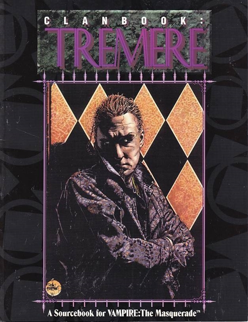 Vampire the Masquerade - Clanbook Tremere (Genbrug)