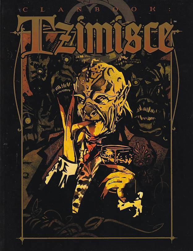 Vampire the Masquerade - Clanbook Tzimisce Revised Edition (Genbrug)