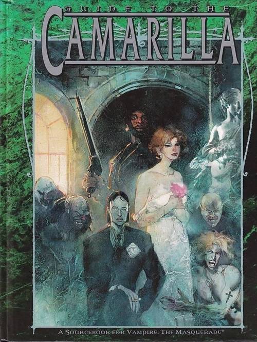 Vampire the Masquerade - Guide to the Camarilla(Genbrug)
