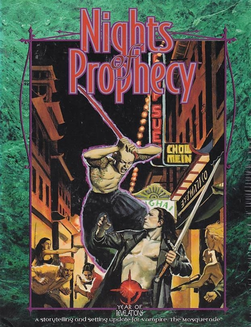 Vampire the Masquerade - Nights of Prophecy (Genbrug)