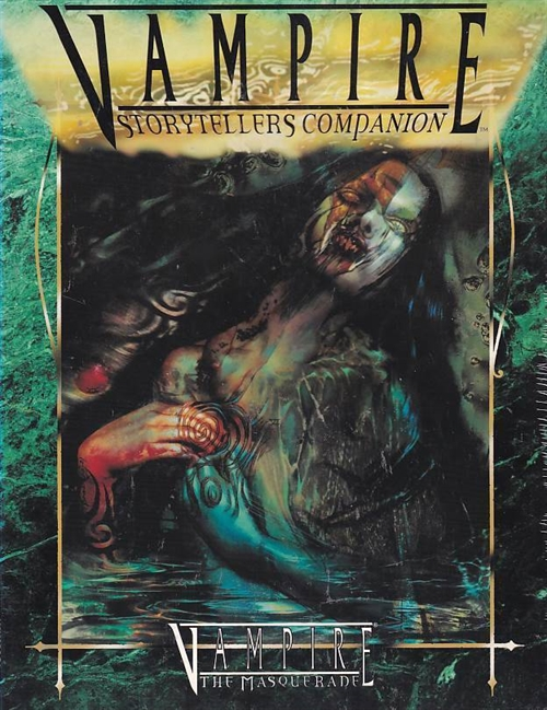 Vampire the Masquerade - Storytellers Companion (Genbrug)