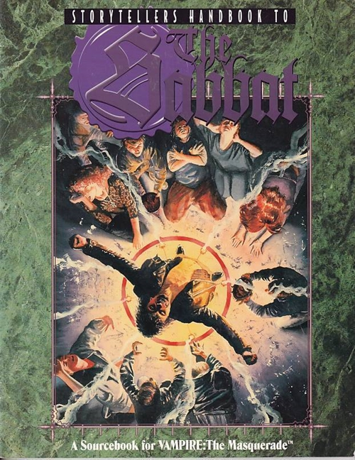 Vampire the Masquerade - Storytellers handbook to the Sabbat (Genbrug)