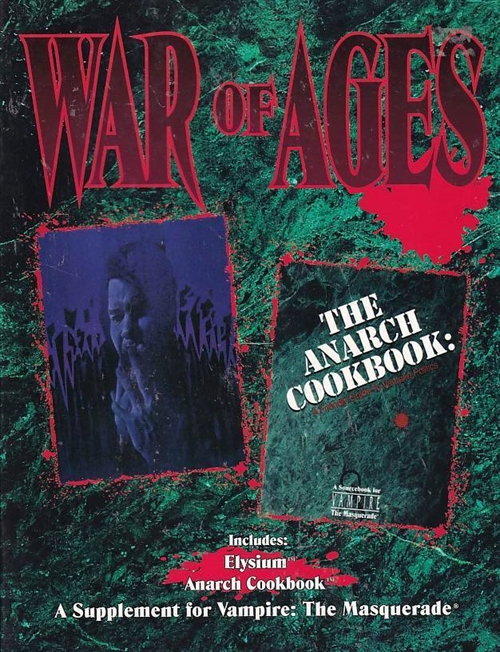 Vampire the Masquerade - War of Ages (Genbrug)