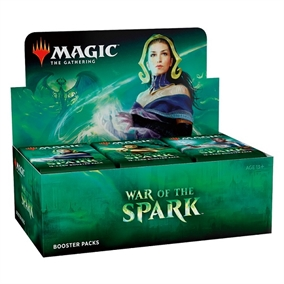War of the Spark - Booster Box Display (36 Booster Pakker) - Magic the Gathering