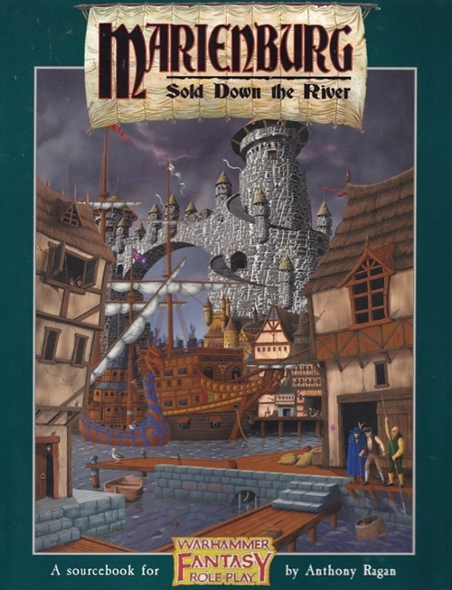 Warhammer Fantasy Roleplay 1st - Marienburg Sold down the River  (A-Grade)(Genbrug)