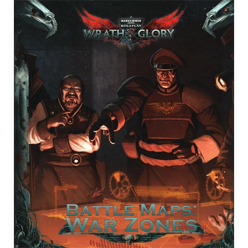 Warhammer 40K RPG - Wrath & Glory - Battle Maps: War Zones
