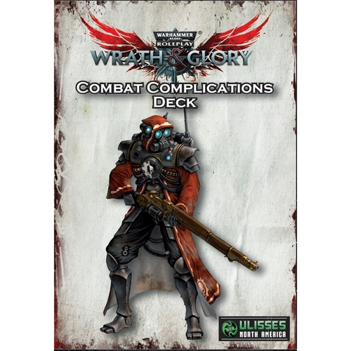 Warhammer 40K RPG - Wrath & Glory - Combat Complications Deck