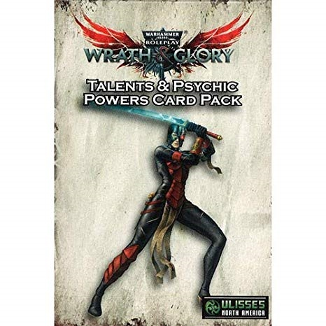 Warhammer 40K RPG - Wrath & Glory - Talents & Psychic Powers Card Pack