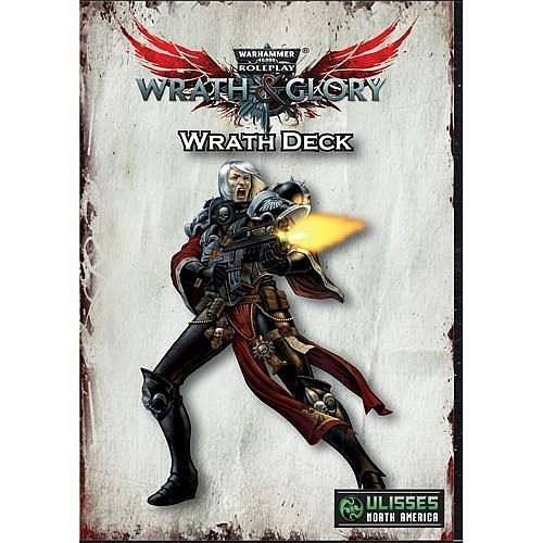 Warhammer 40K RPG - Wrath & Glory - Wrath Deck