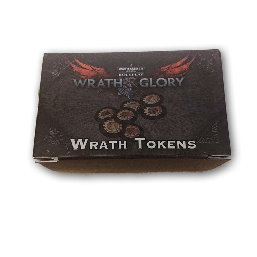 Warhammer 40K RPG - Wrath & Glory - Wrath Tokens