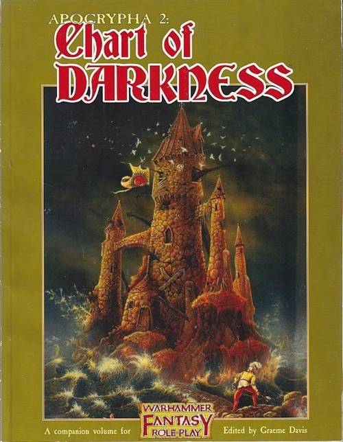 Warhammer Fantasy Roleplay 1st - Apocrypha 2 Chart of Darkness (Genbrug)