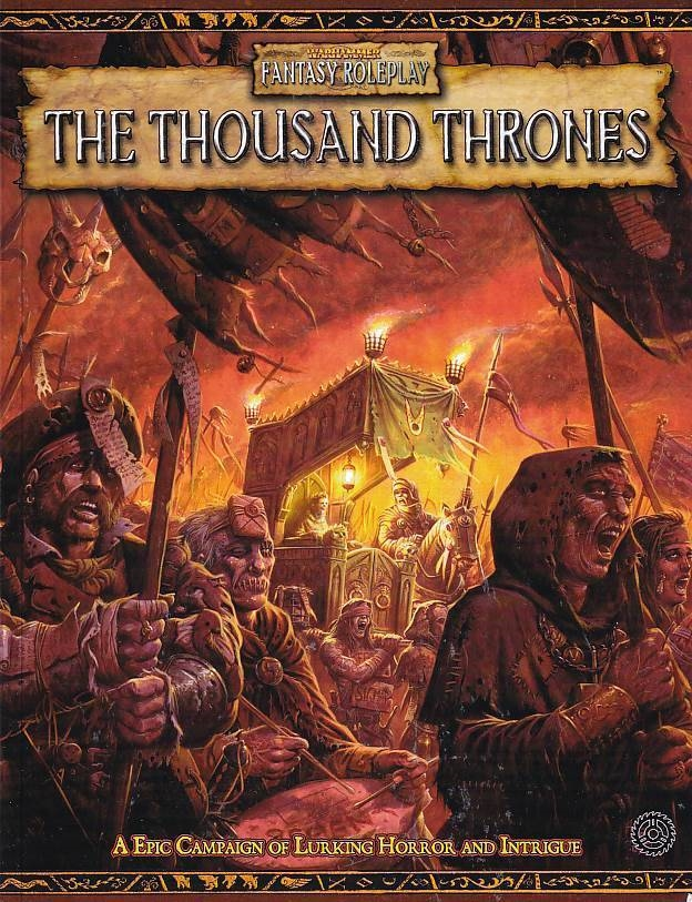 Warhammer Fantasy Roleplay 2nd ed. - The Thousand Thrones (B-Grade) (Genbrug)