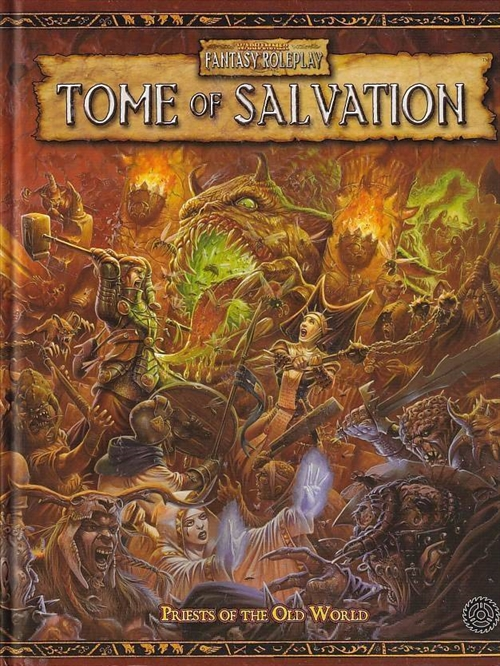 Warhammer Fantasy Roleplay 2nd ed. - Tome of Salvation - Hardcover (B-Grade) (Genbrug)