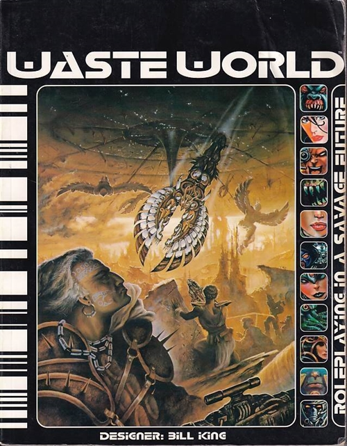 Waste World - Roleplaying in a Savage Future (Genbrug)