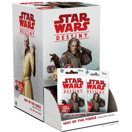 Way of the Force - Star Wars Destiny - Booster Box Display (36 booster pakker)