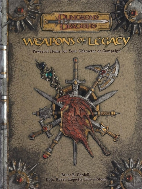 Dungeons & Dragons 3.5 - Weapons of Legacy (B-Grade) (Genbrug)