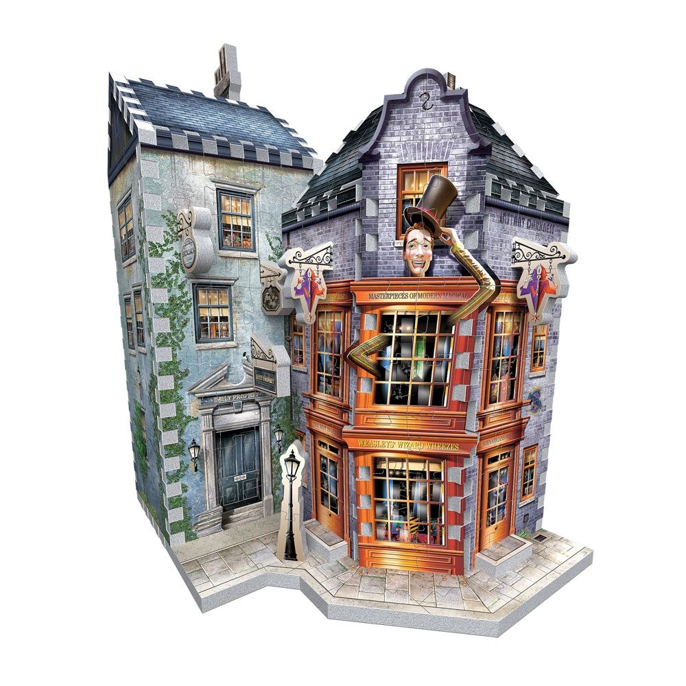 Weasley\'s Wizard Wheezes & Daily Prophet - Harry Potter 3D Puslespil