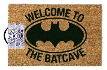 Welcome to the Batcave - Grovmåtte 40x60cm