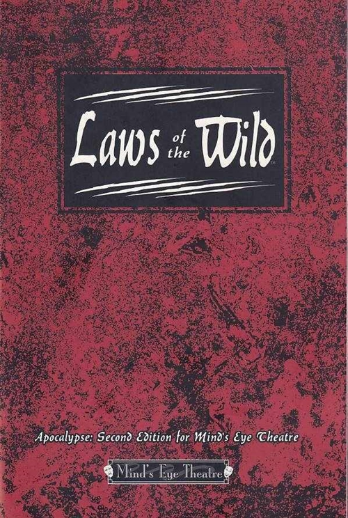 Werewolf the Apocalypse 2nd Edition - Minds Eye Theatre - Laws of the Wild (B Grade) (Genbrug)