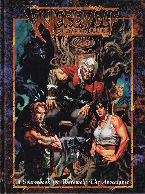 Werewolf the Apocalypse 2nd Edition - Players Guide Second Edition (B Grade) (Genbrug)