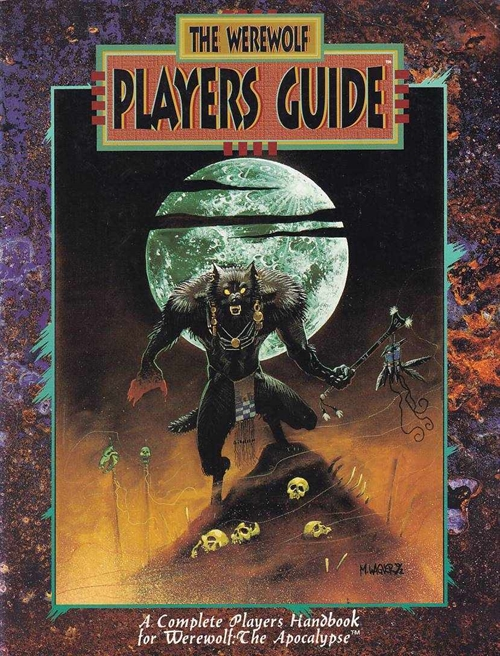 Werewolf the Apocalypse 2nd Edition - The Werewolf Players Guide (B Grade) (Genbrug)