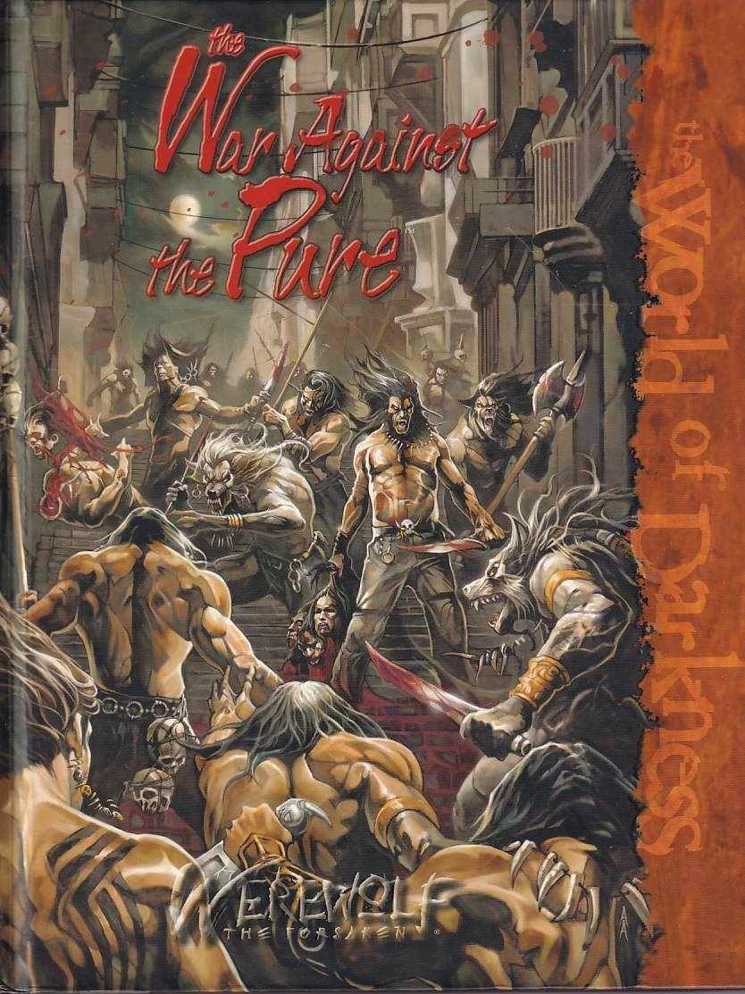 Werewolf the Forsaken - The War Against the Pure (B Grade) (Genbrug)