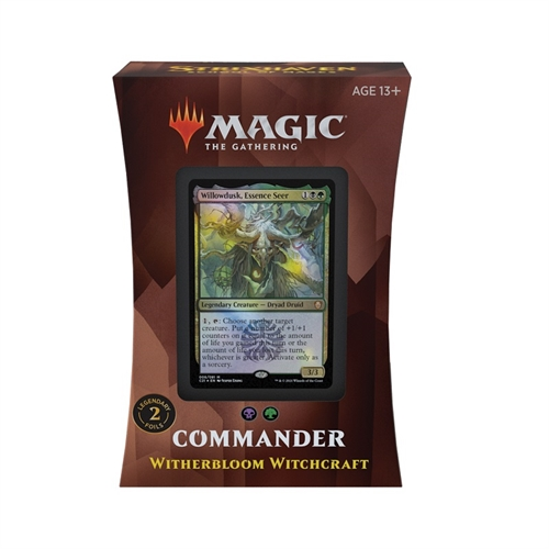 Commander deck - Witherbloom Witchcraft - Strixhaven School of Mages - Magic The Gathering