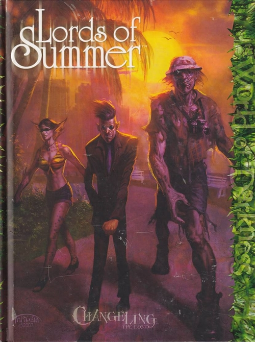Changeling the Lost 1st edition - Lords of Summer - (B Grade) (Genbrug)