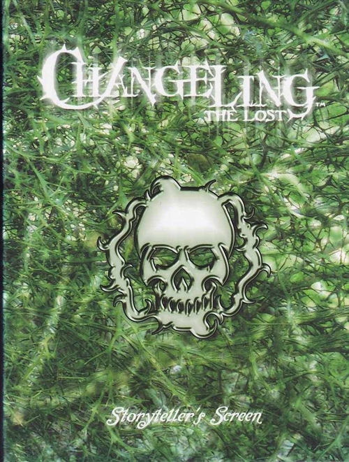 Changeling the Lost 1st edition - Storytellers Screen - (B Grade) (Genbrug)