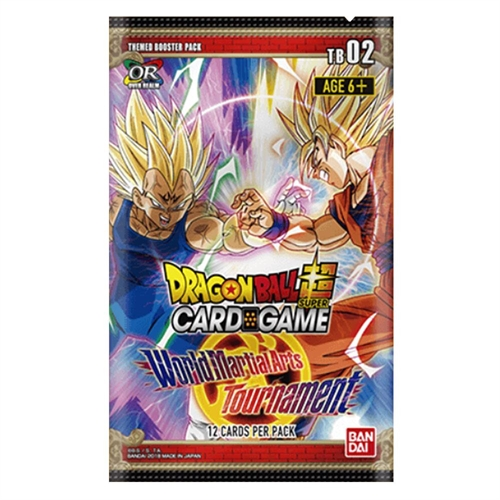 World Martial Arts Tournament 2 - Themed Booster Pakke - DragonBall Super card