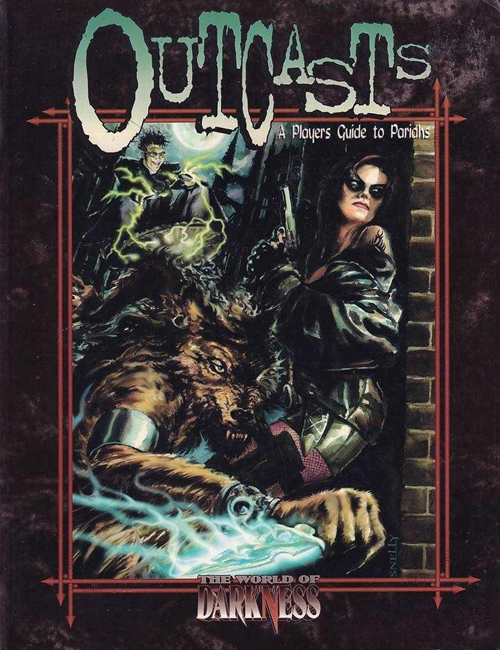 World of Darkness - Outcasts - A Players Guide to the Pariah (B Grade) (Genbrug)