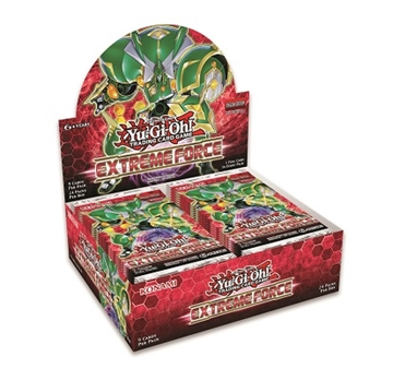 Yu-Gi-Oh! kort - Extreme Force - Booster box Display (24 Booster Pakker)