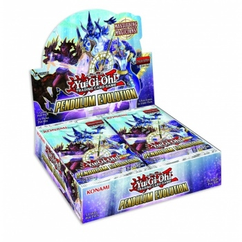 Yu-Gi-Oh kort - Pendulum Evolution - Booster Display (24 booster pakker)