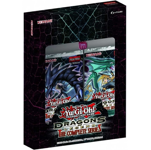 Yu-Gi-oh! kort  - Dragons of Legends The Complete Series