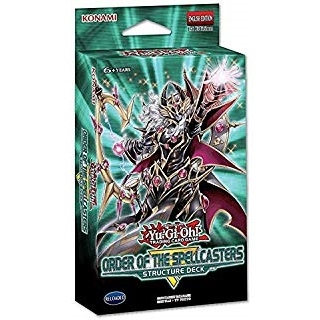 Yu-Gi-oh! kort  - Structure Deck - Order of the Spellcasters