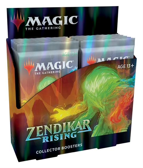 Zendikar Rising - Collector Booster Box Display (12 Booster Pakker) - Magic the Gathering