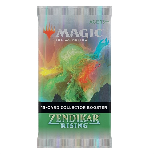 Zendikar Rising - Collector Booster Pakke - Magic the Gathering