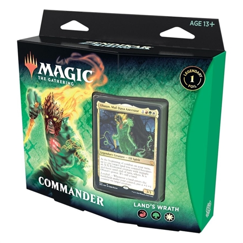 Zendikar Rising - Commander Deck - Land's wrath - Magic the Gathering