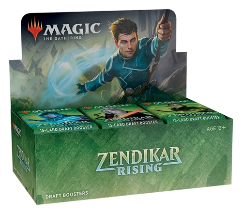 Zendikar Rising - Draft Booster Box Display (36 Booster Pakker) - Magic the Gathering
