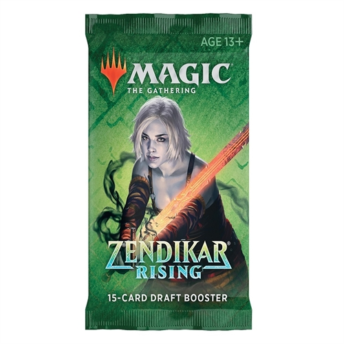 Zendikar Rising - Draft Booster Pakker - Magic the Gathering