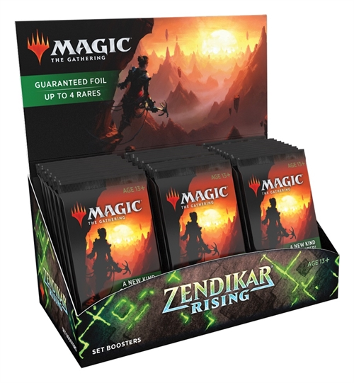 Zendikar Rising - Set Booster Box Display (30 Booster Pakker) - Magic the Gathering
