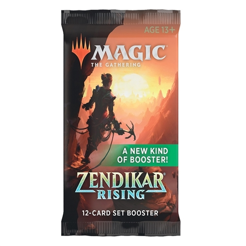 Zendikar Rising - Set Booster Pakke - Magic the Gathering