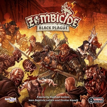 Zombicide Black Plague - Brætspil