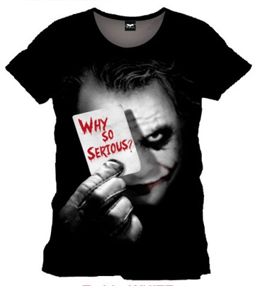 Joker - Why so Serious - Unisex