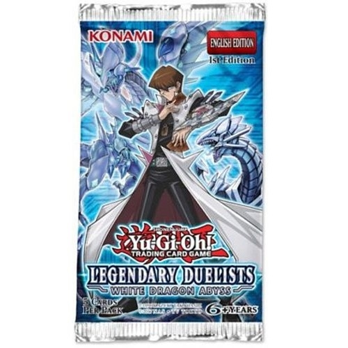 Legendary Duelists White Dragon Abyss - Booster Pakke - Yu-Gi-OH kort